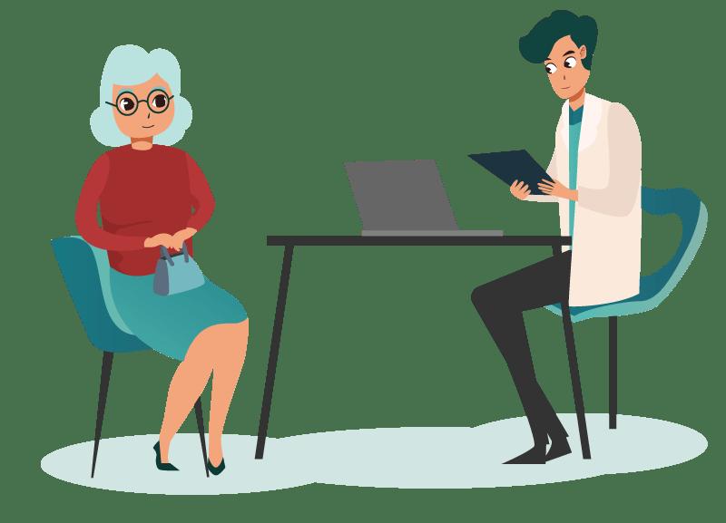 Consultation chez un ophtalmologiste